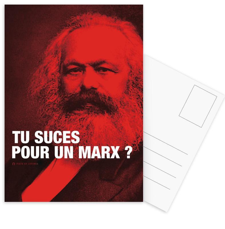 Marx Postcard Set