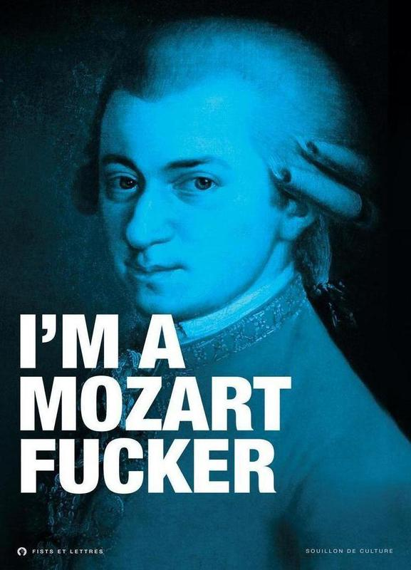Mozart toile