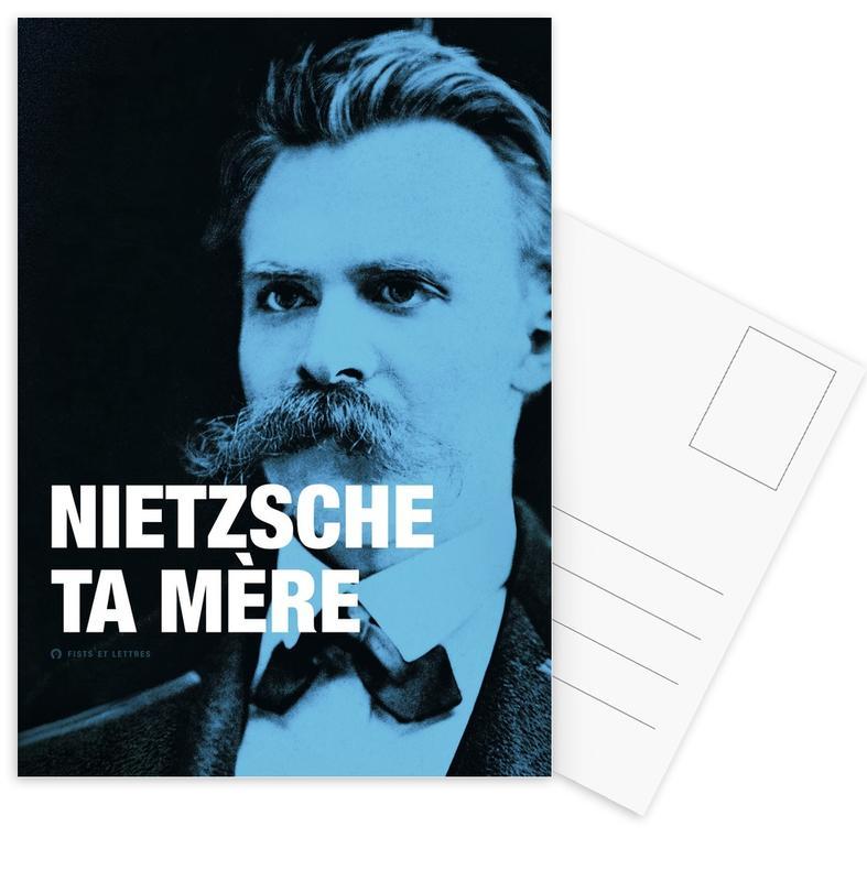 Grappig, Quotes en slogans, Nietzsche ansichtkaartenset