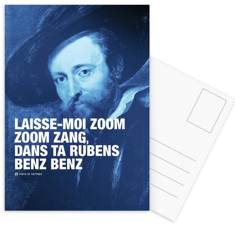 Grappig, Rubens ansichtkaartenset
