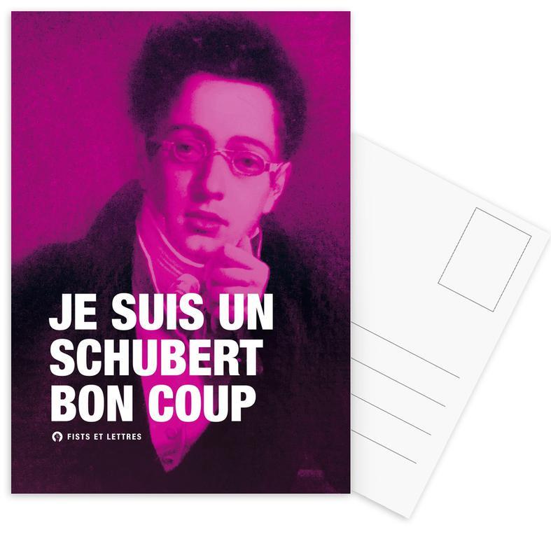 Grappig, Schubert ansichtkaartenset