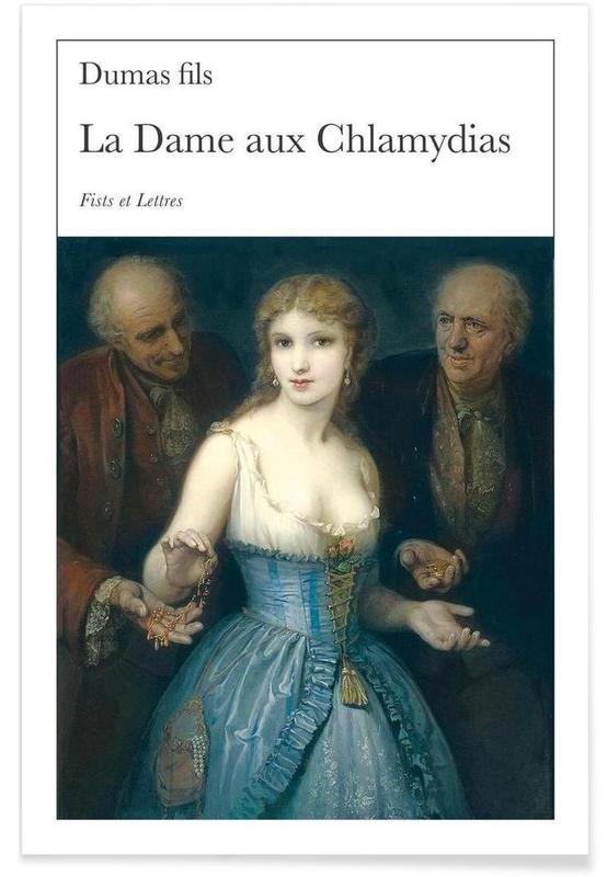 Grappig, La Dame Aux Chlamydias poster