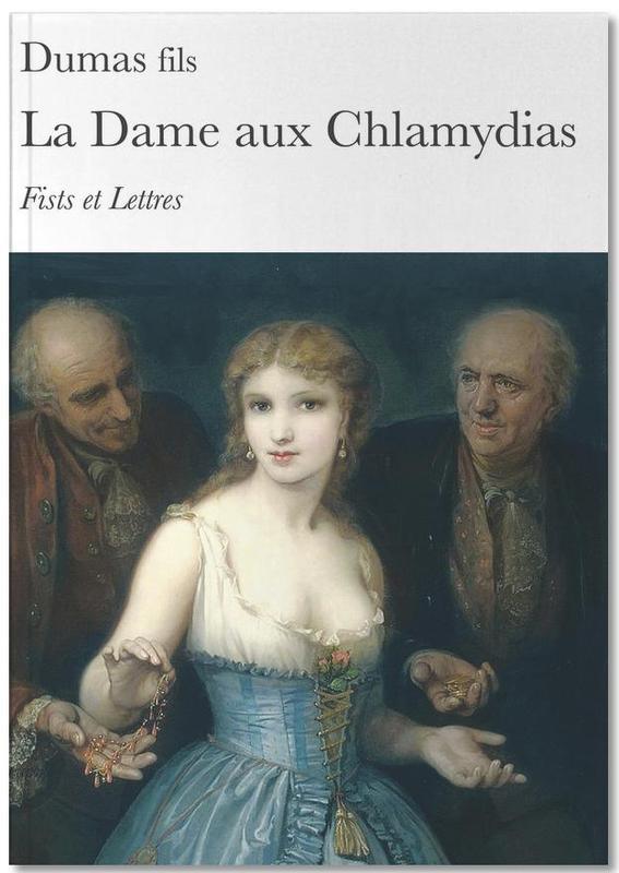 Humour, La Dame Aux Chlamydias Notebook