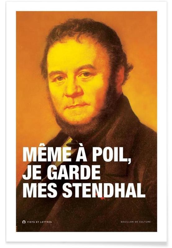 Stendhal affiche