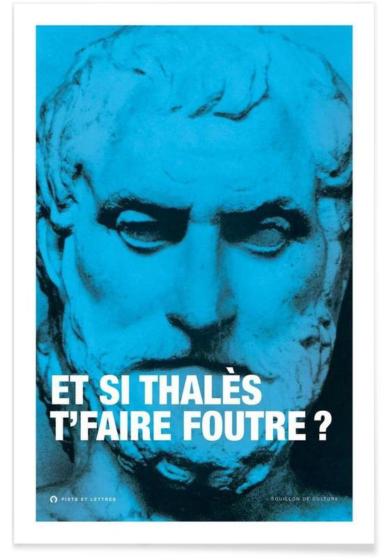 Grappig, Thales poster