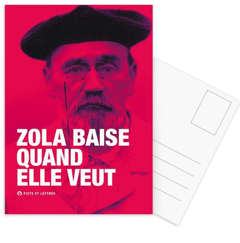 Grappig, Zola ansichtkaartenset