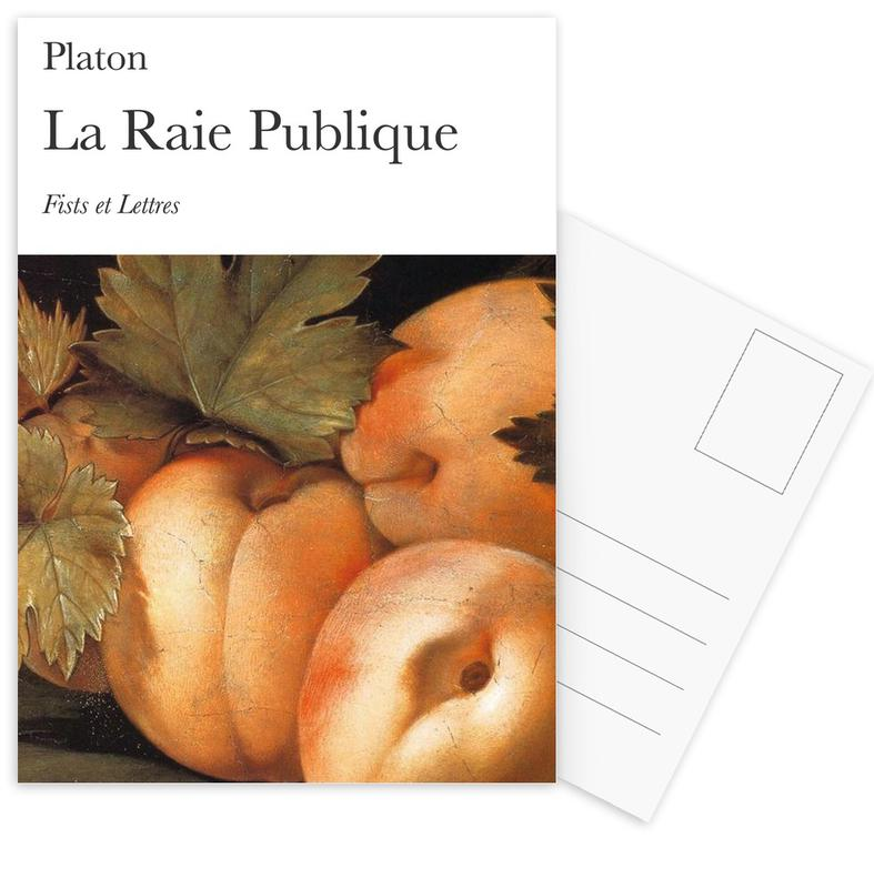 Grappig, La Raie Publique ansichtkaartenset