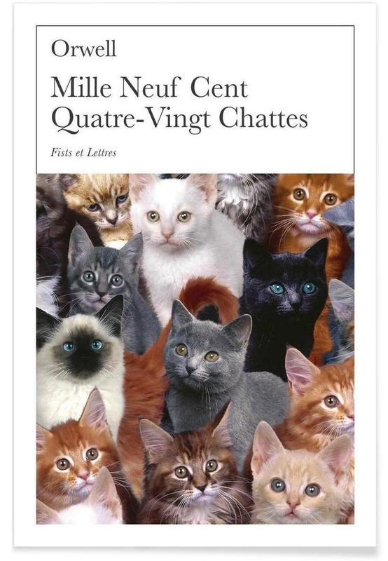 1980 - Chattes -Poster