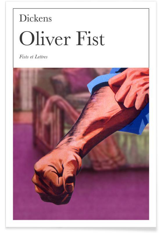 Grappig, Oliver Fist poster