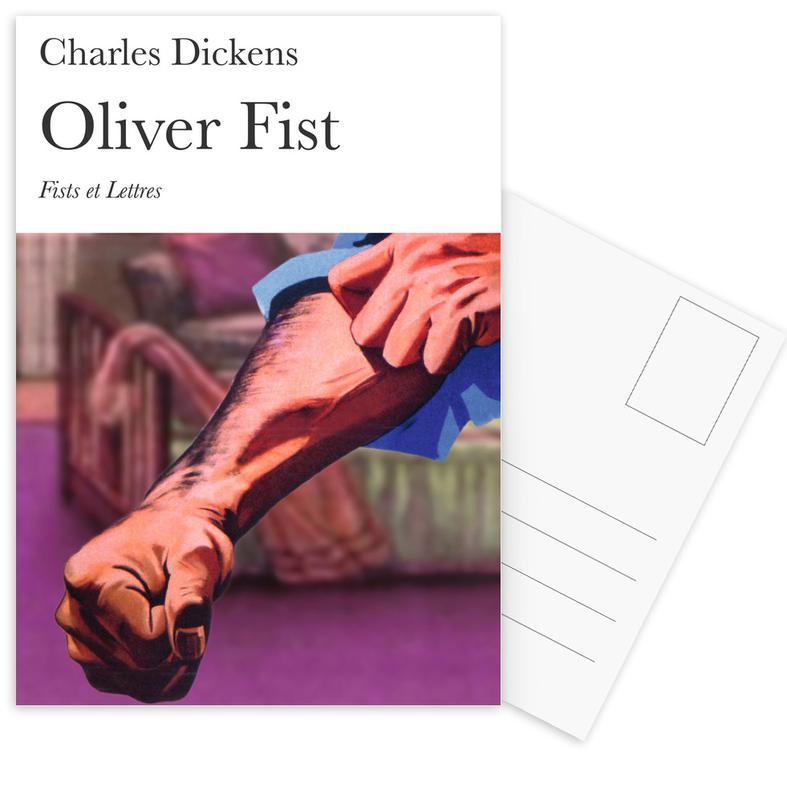 Grappig, Oliver Fist ansichtkaartenset
