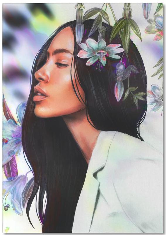 Portraits, Fashion Illustrations, Tropicale Notepad