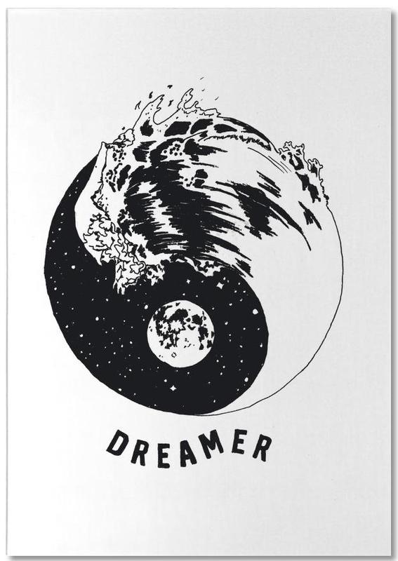 Motivational, Symbols, Dreamer Notepad