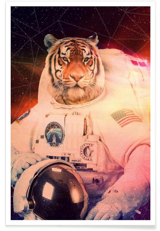 Astronautes, Créatures et hybrides, Astrotiger affiche