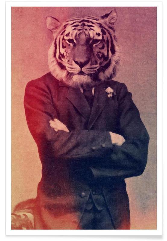 Væsener & hybrider, Old Timey Tiger Plakat