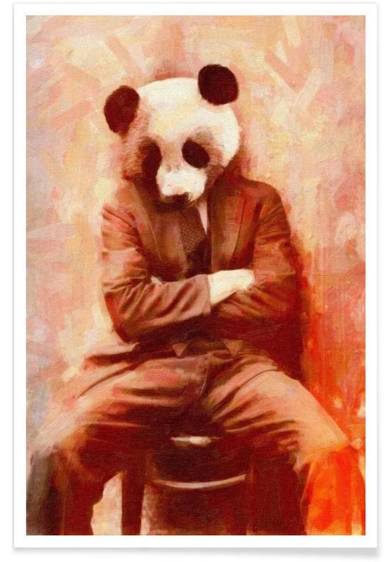 Sad Panda affiche