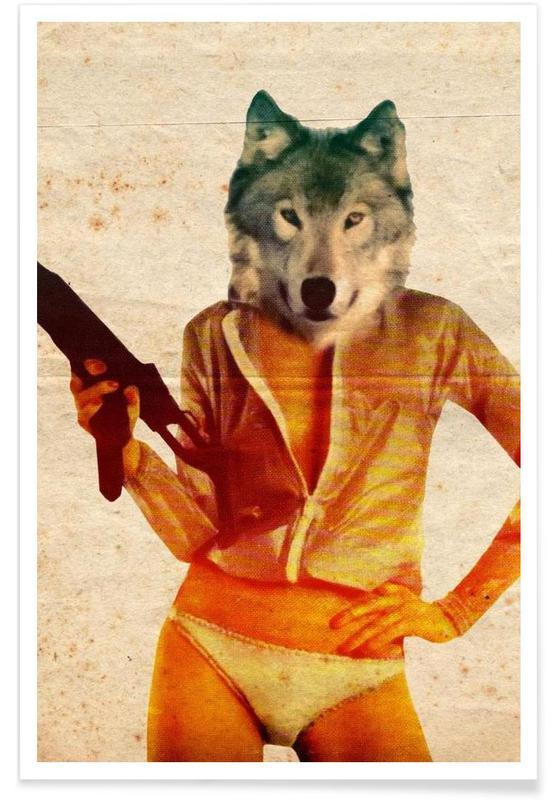Créatures et hybrides, Wolf Girl affiche