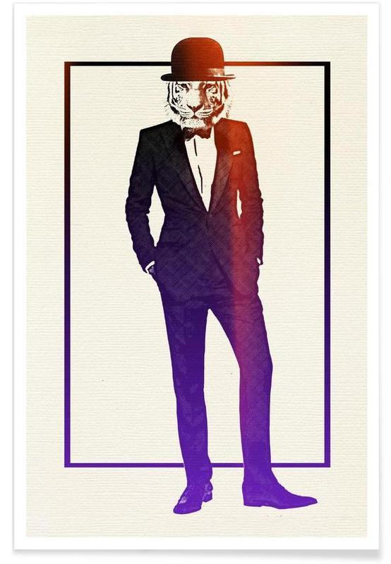 Classy Tiger -Poster
