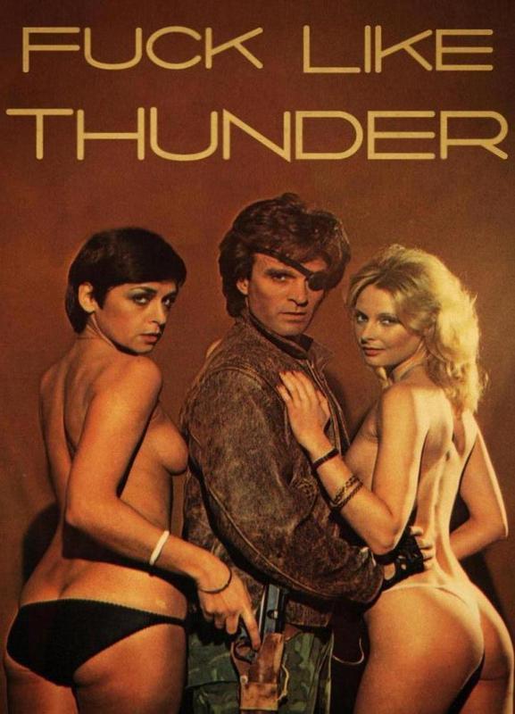 Like Thunder -Leinwandbild