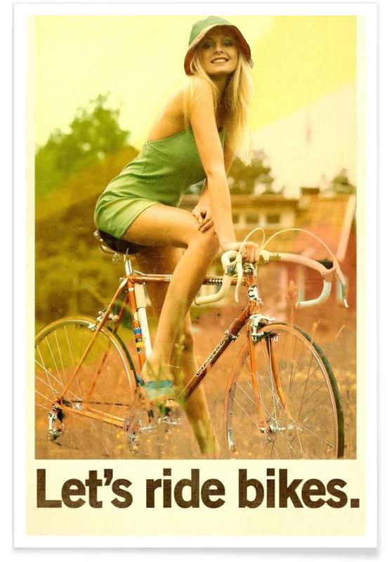 , Let's Ride Bikes affiche