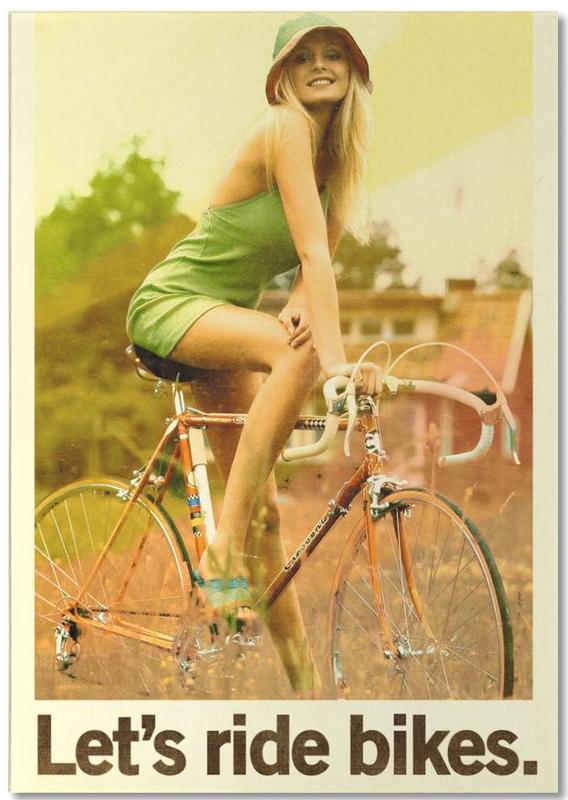 Let's Ride Bikes bloc-notes
