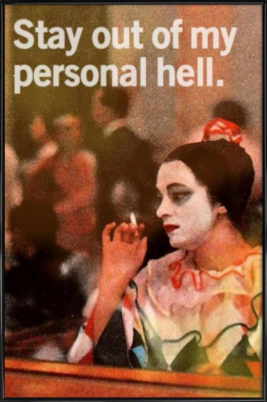 My Personal Hell Framed Poster