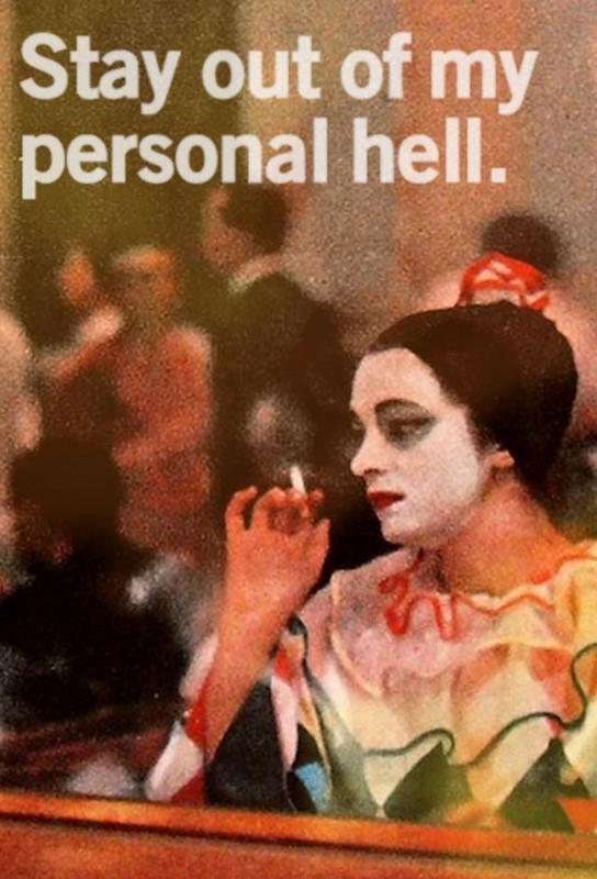 My Personal Hell alu dibond