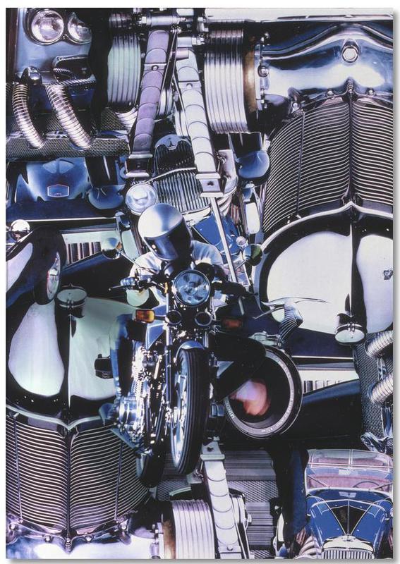 Blue Dynamic, 1980 -Notizblock