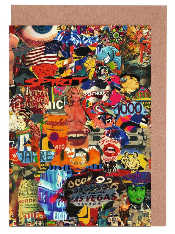 Street Art, The Eye, 2010 cartes de vœux