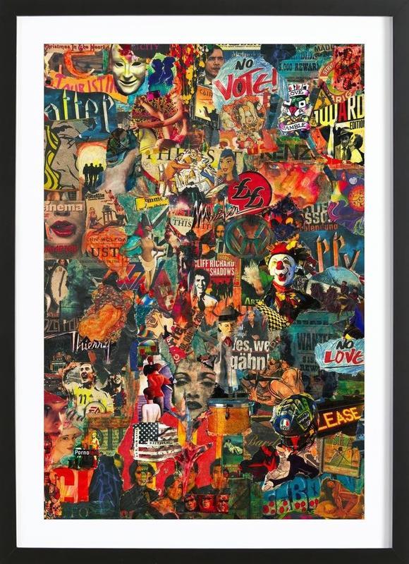 Nothing Is Real, 2005 ingelijste print
