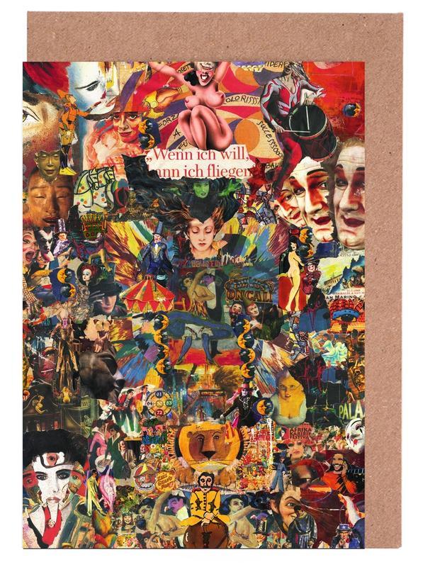 Street Art, Magic Circus, 2010 cartes de vœux