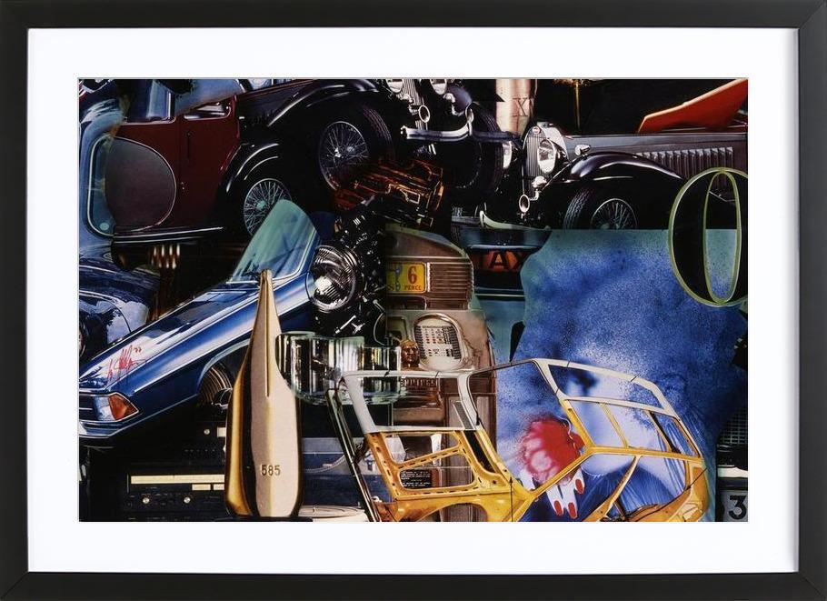 Value 585, 1980 ingelijste print