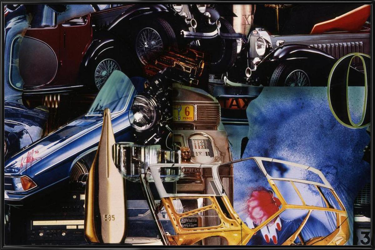 Value 585, 1980 ingelijste poster