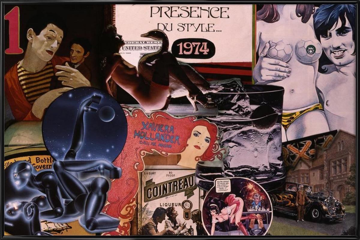 1974, 1974 ingelijste poster