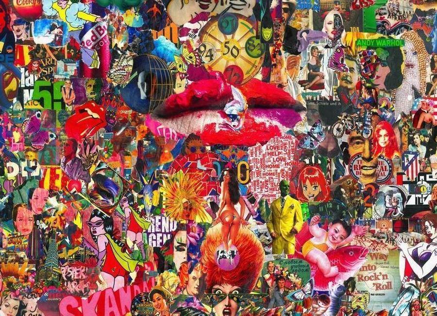 Kiss, 2010 canvas doek