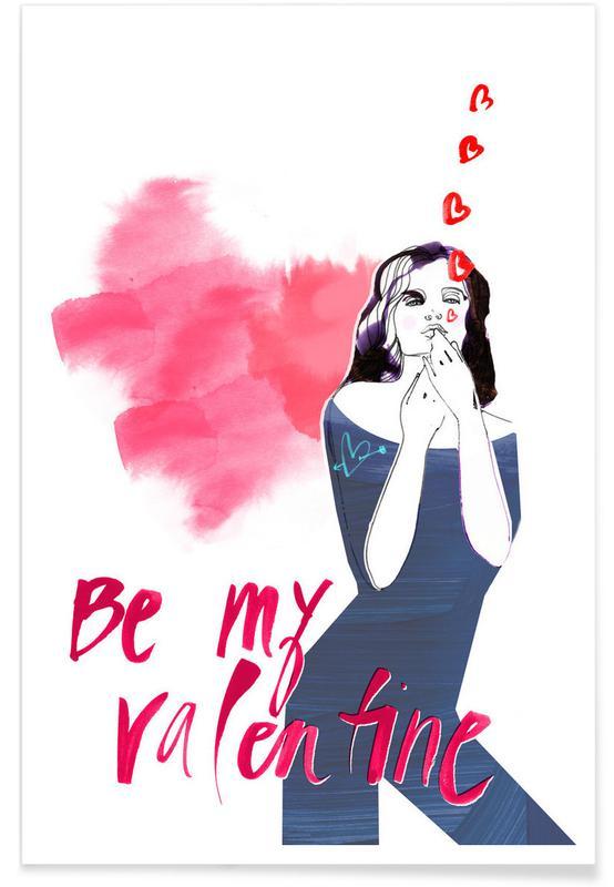 Citations d'amour, Saint-Valentin, Be My Valentine 2 affiche