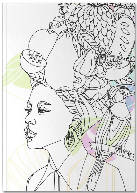 , Fruit Hat - Queens & Dandies Notebook