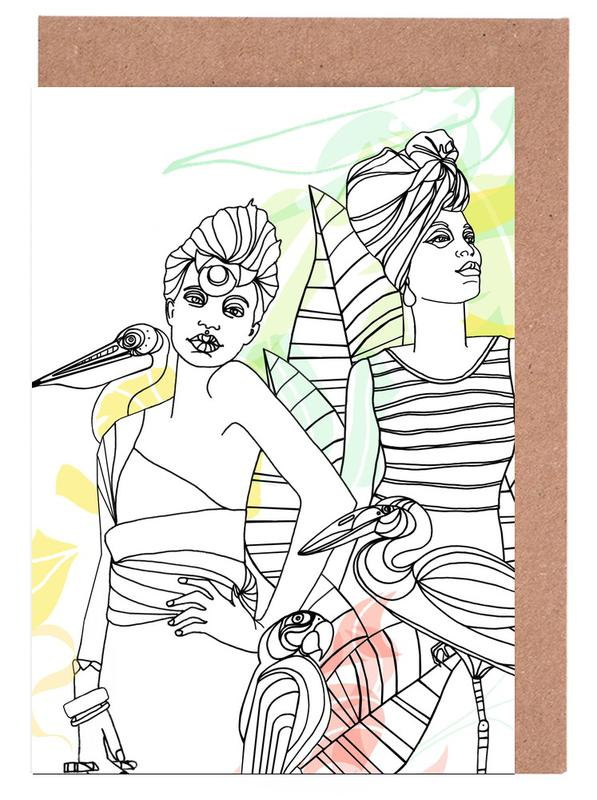 , Smokers - Queens & Dandies cartes de vœux
