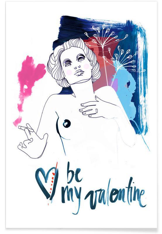 , Be My Valentine 1 affiche