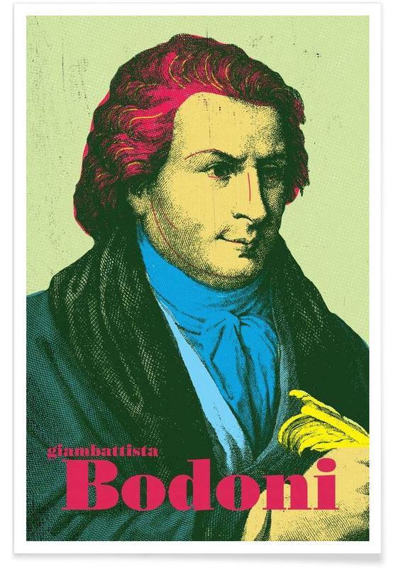 , Bodoni -Poster