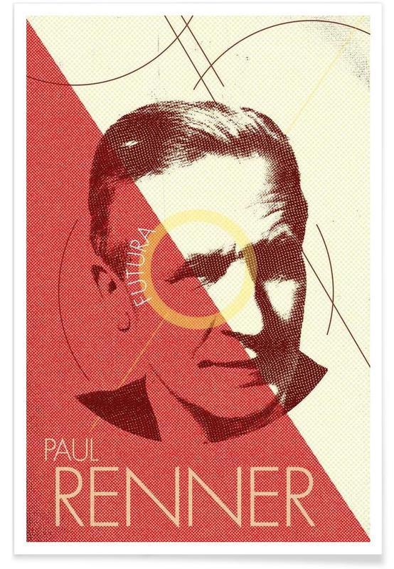 , Renner -Poster