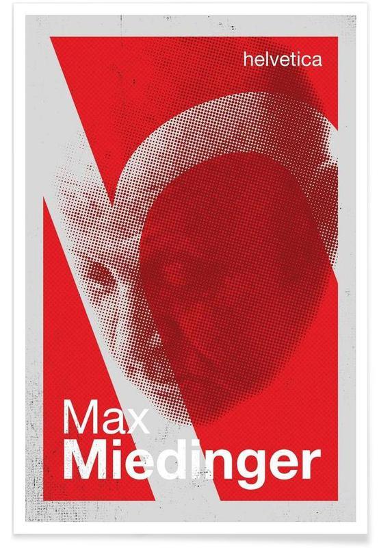 , Miedinger -Poster