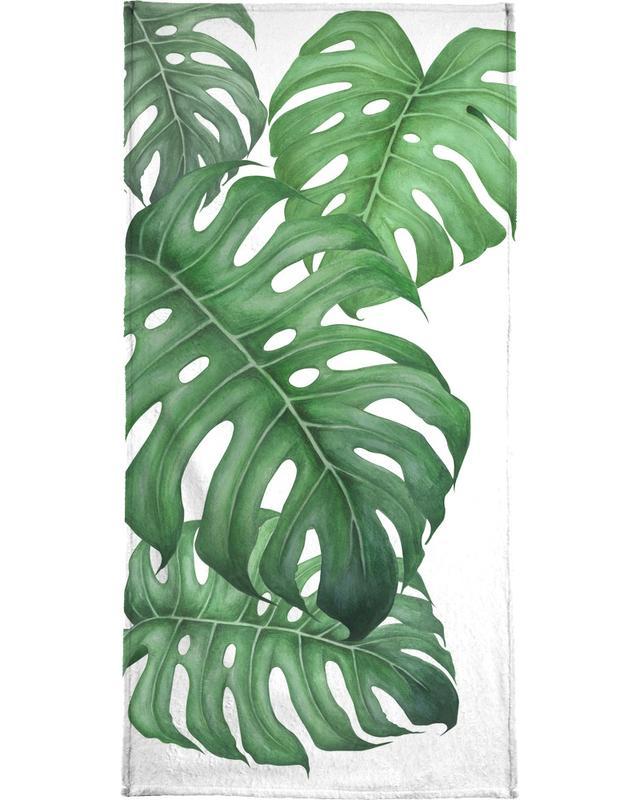 Blätter & Pflanzen, Tropical No.2 -Strandtuch