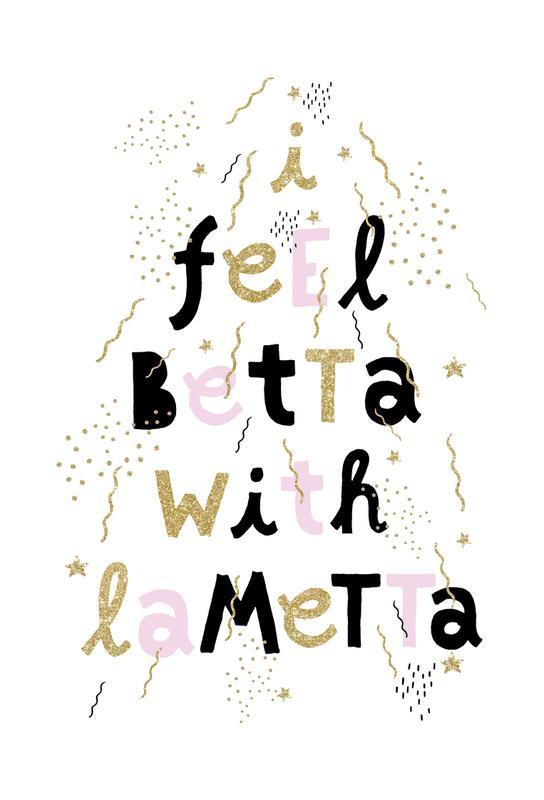 Betta Lametta tableau en verre