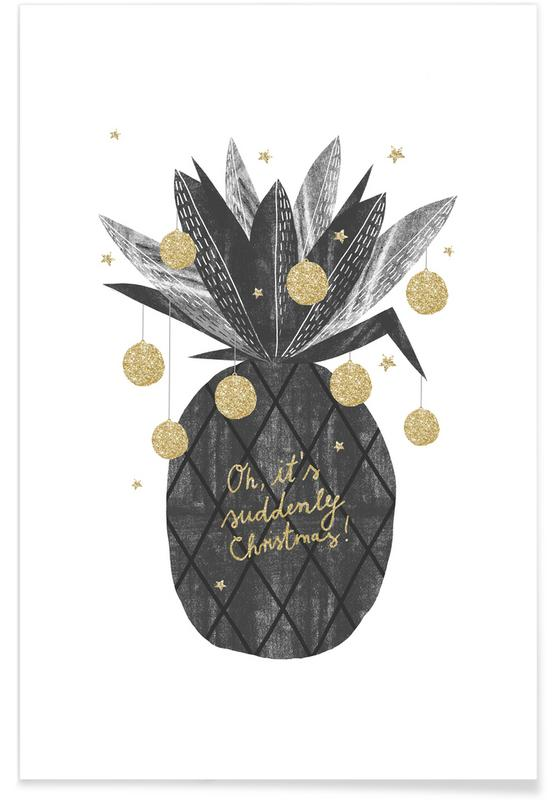 Sudden Christmas Poster