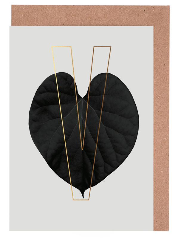 Plants V cartes de vœux