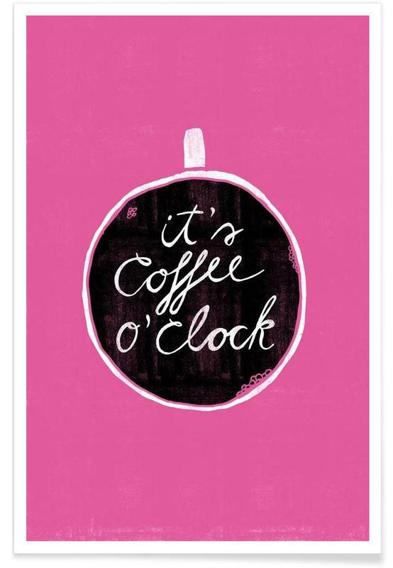 Koffie, Quotes en slogans, Coffee poster