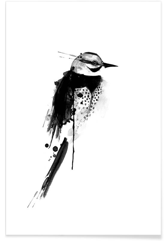 Schwarz & Weiß, Birdy 5 -Poster