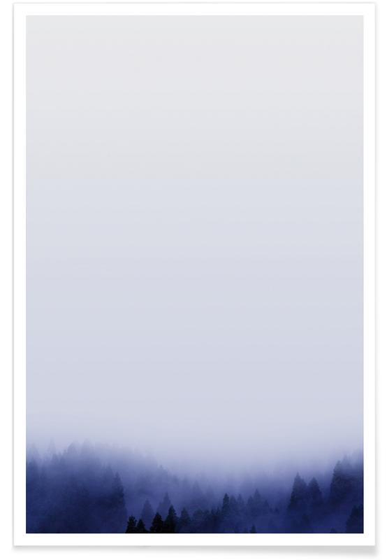 Forêts, Ciels & nuages, Bluescape 1 affiche