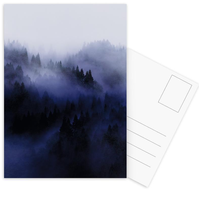 Bluescape 3 -Postkartenset