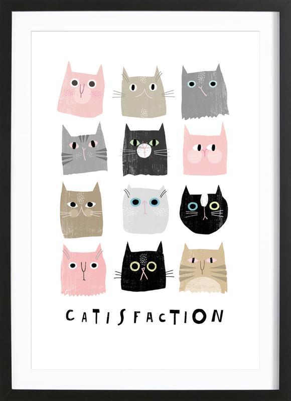 Catisfaction 1 Framed Print